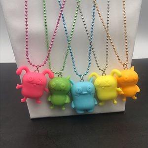 OOAK UglyDolls Character Neon Necklaces! (C)